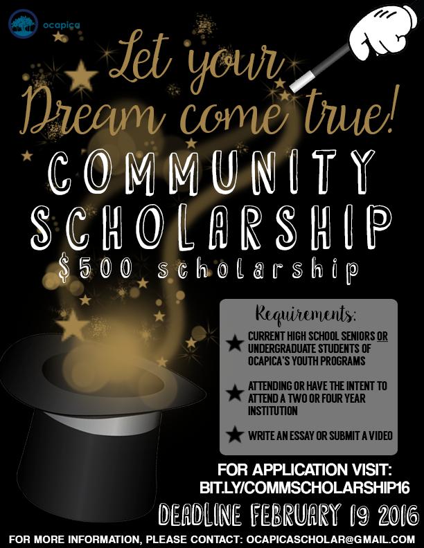Disney_Scholarship Promo Flyer 2016-17 FINAL